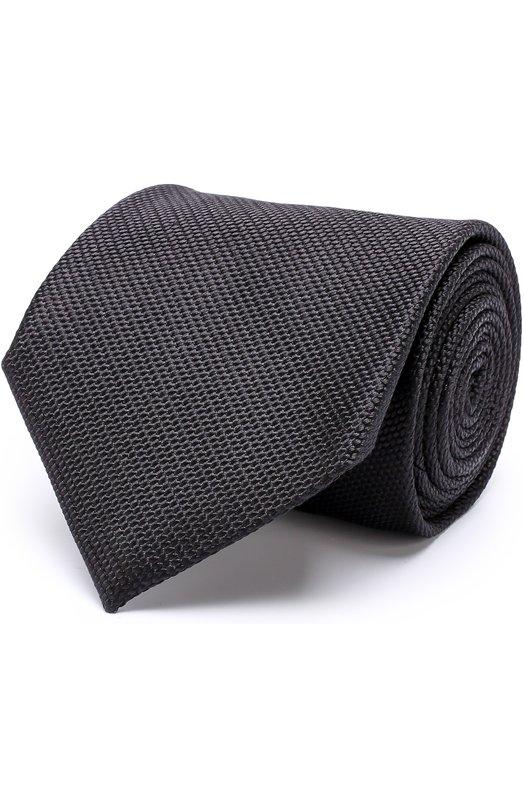 Купить Шелковый галстук Tom Ford, 2TF79/XTF, Италия, Черный, Шелк: 100%;