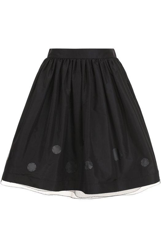 Пышная мини-юбка с широким поясом Ralph Lauren Ralph Lauren