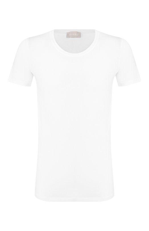 Купить Хлопковая футболка с круглым вырезом Hanro Португалия 5206429 073088