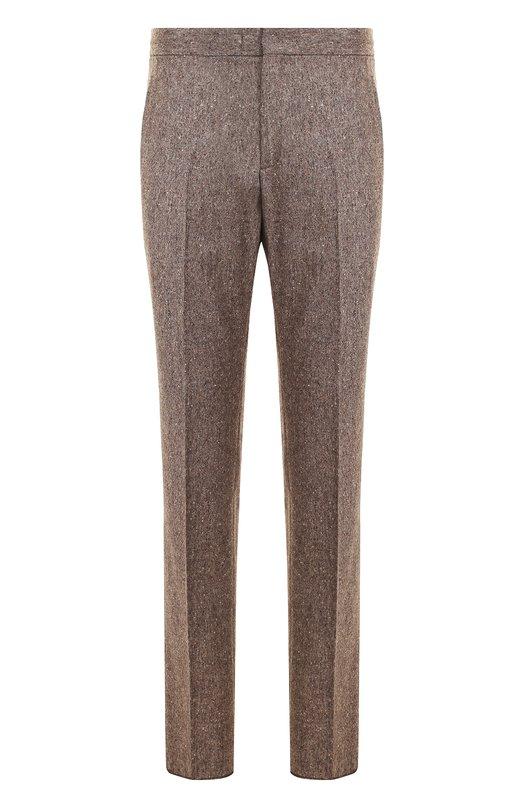 Купить Шерстяные брюки прямого кроя Z Zegna Португалия 5206729 2ZF028/7F3HC2