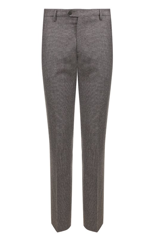 Купить Шерстяные брюки прямого кроя Berwich, SC/1ALC/VB4969, Италия, Светло-коричневый, Шерсть: 100%;