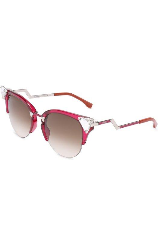 Купить Солнцезащитные очки Fendi, 0041 NHK, Италия, Малиновый