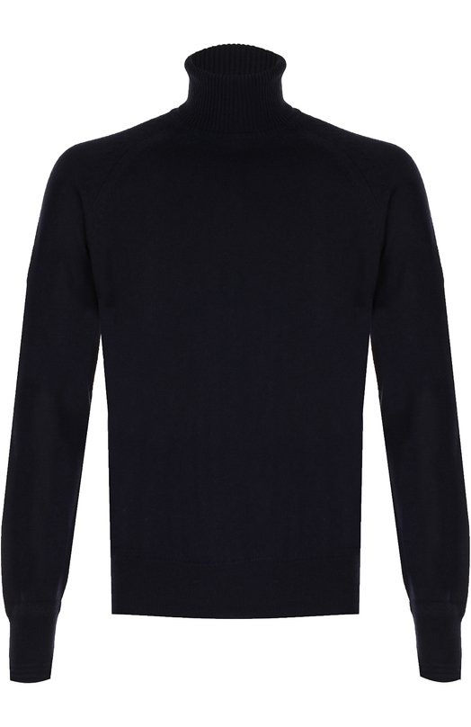 Купить Кашемировый свитер с воротником-стойкой Tom Ford, BNK66/TFK320, Италия, Темно-синий, Кашемир: 100%;