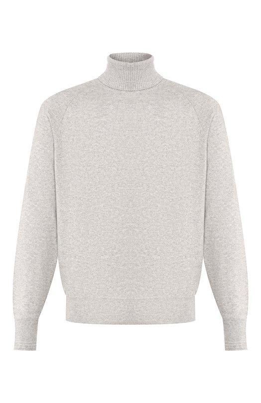 Купить Кашемировый свитер с воротником-стойкой Tom Ford, BNK66/TFK320, Италия, Светло-серый, Кашемир: 100%;