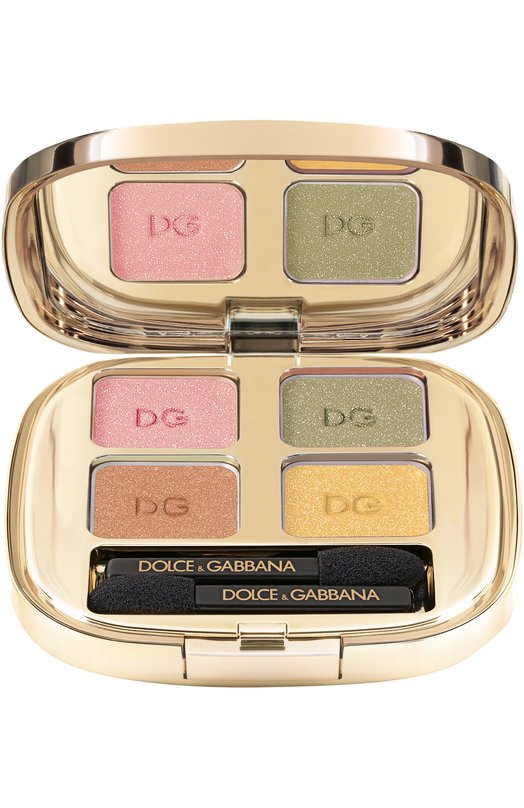 Купить Тени для век Quad, оттенок 180 Summer Dance Dolce & Gabbana, 3033025DG, Италия, Бесцветный