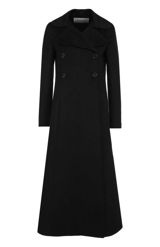 Шерстяное двубортное пальто Valentino Valentino