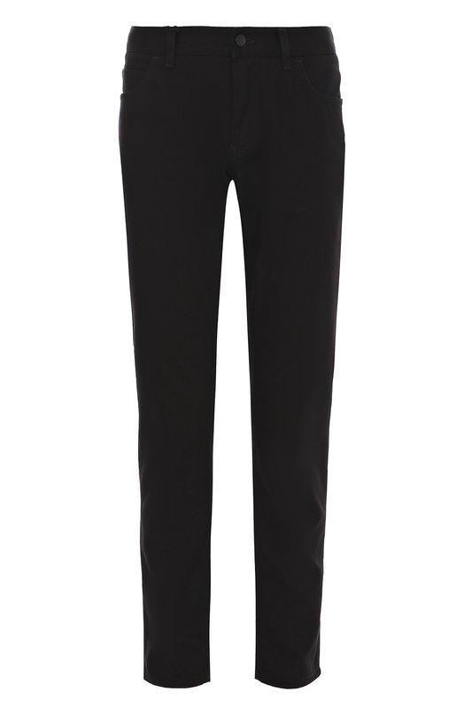Купить Хлопковые брюки прямого кроя Dolce & Gabbana, 0101/GY70LD/G8V29, Италия, Черный, Хлопок: 60%; Лиоселл: 40%;