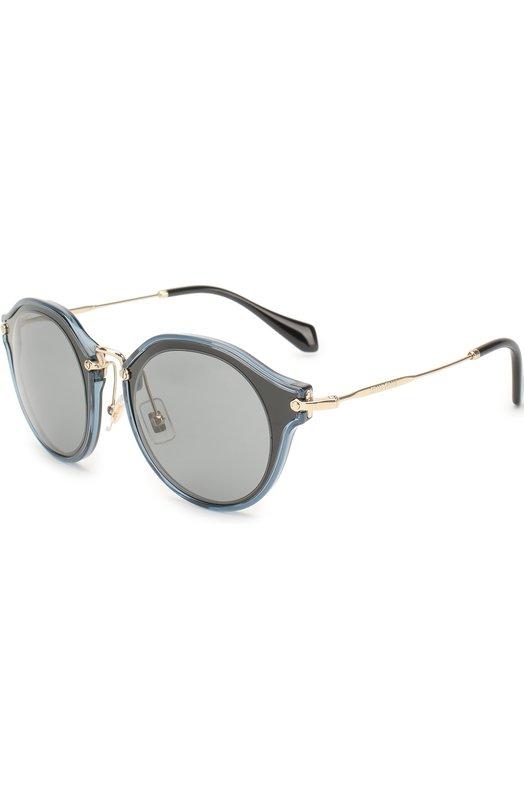 Купить Солнцезащитные очки Miu Miu, 51SS-1AB9K1, Италия, Голубой