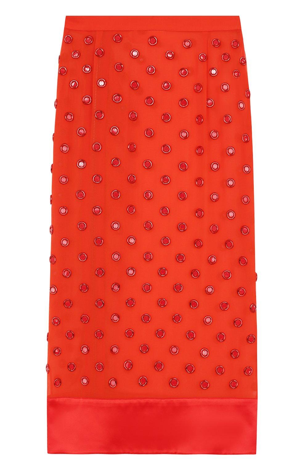 Женская шелковая юбка