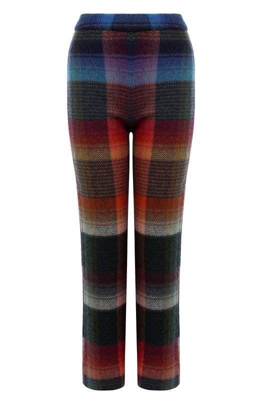 Купить Укороченные расклешенные брюки с принтом Missoni, I17.MD.208383, Италия, Разноцветный, Мохер: 53%; Полиамид: 29%; Шерсть: 18%;