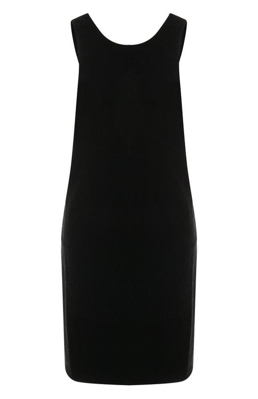 Купить Бархатное платье-миди без рукавов Elizabeth and James, 317D428, США, Черный, Полиэстер: 100%; Подкладка-полиэстер: 100%;