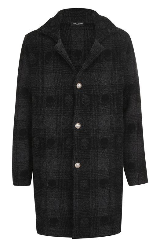 Однобортное шерстяное пальто Gemma. H