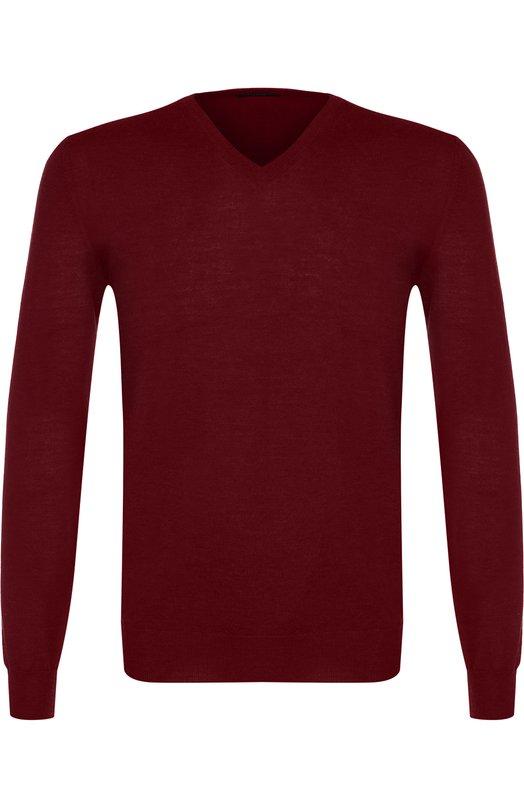 Купить Пуловер из шерсти тонкой вязки TSUM Collection Италия 5212742 I17-V NECK