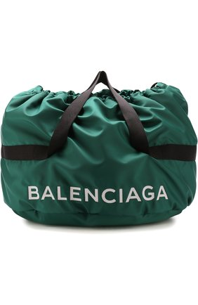 Сумка Wheel Bag S Balenciaga зеленая | Фото №1