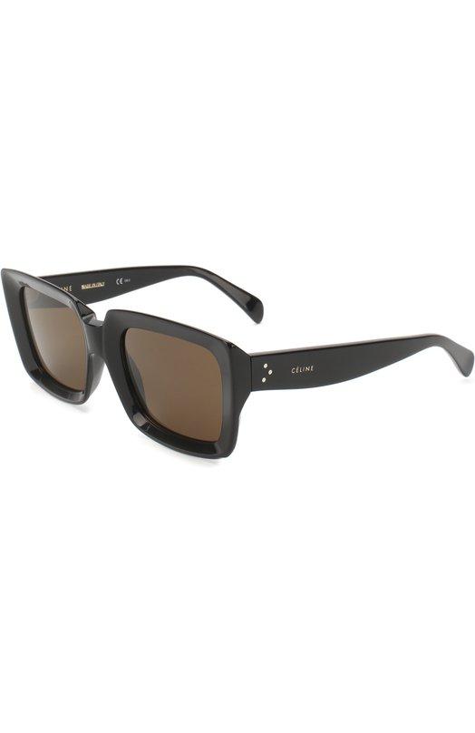 Купить Солнцезащитные очки Céline Eyewear, 41449 807, Италия, Черный