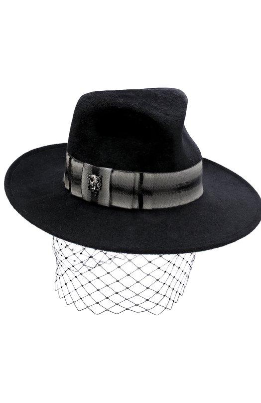 Вечерняя фетровая шляпа с декором Philip Treacy Philip Treacy