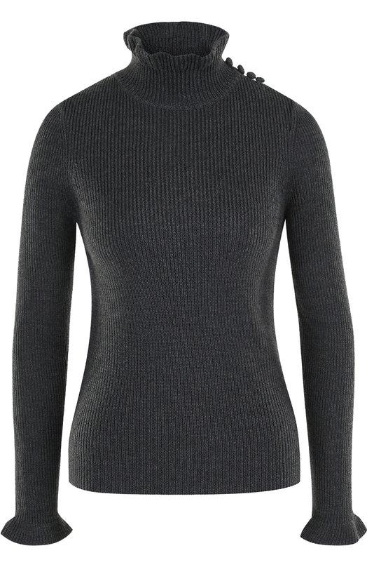 Шерстяной свитер фактурной вязки See by Chloé See by Chloe