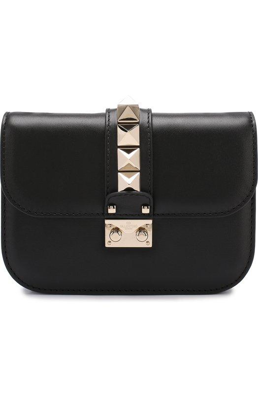 Купить Сумка Valentino Garavani Glam Lock small Valentino, MW2B0312/VIT, Италия, Черный, Кожа натуральная: 100%;