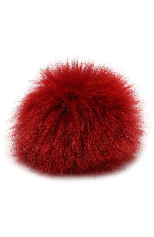 Помпон из меха лисы Loro Piana, FAG5547, Италия, Красный, Мех/лиса/: 100%;  - купить