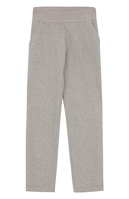 Спортивные брюки прямого кроя из шерсти и кашемира Loro Piana