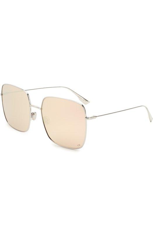 Купить Солнцезащитные очки Dior, DI0RSTELLAIRE1 010, Италия, Серебряный