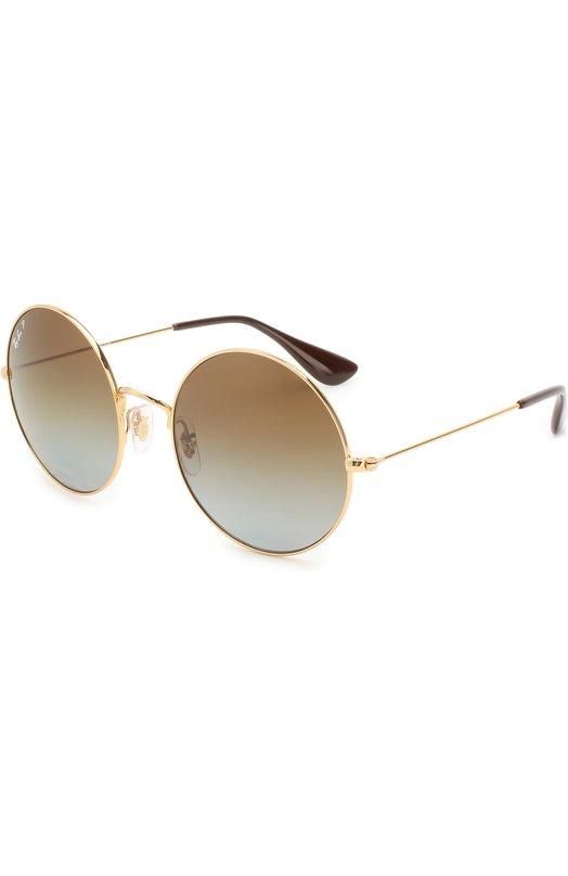 Купить Солнцезащитные очки Ray-Ban, 3592-001/T5, Италия, Золотой