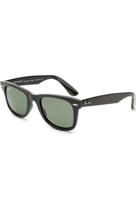 Солнцезащитные очки Ray-Ban, 4340-601/58, Италия, Черный  - купить
