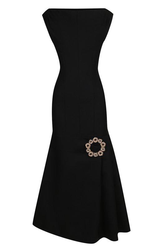 Приталенное шерстяное платье-миди Jacquemus Jacquemus