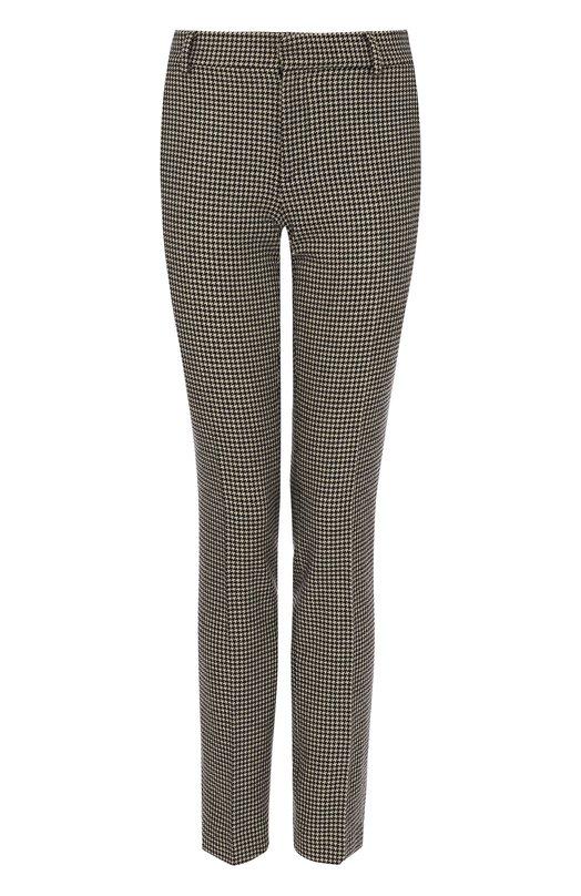 Шерстяные брюки прямого кроя со стрелками Ralph Lauren Ralph Lauren