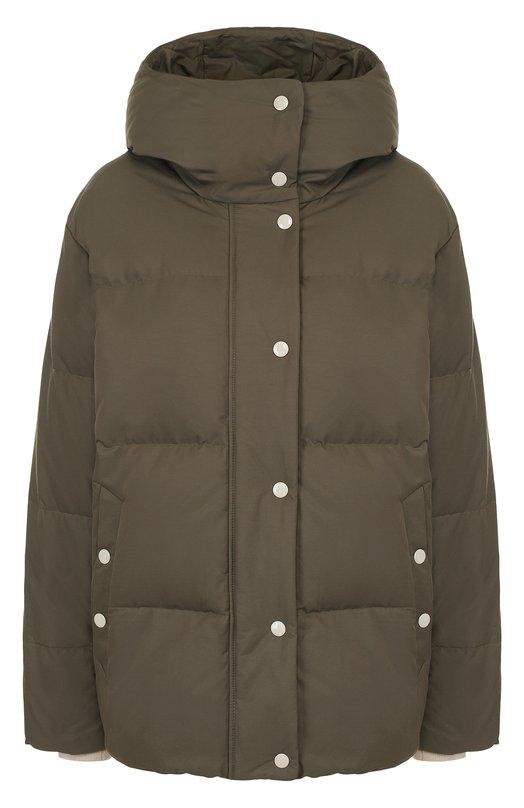 Однотонная стеганая куртка с капюшоном Rag&Bone Rag&Bone