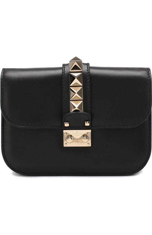 Купить Сумка Valentino Garavani Glam Lock small Valentino, NW1B0312/VIT, Италия, Черный, Кожа натуральная: 100%;