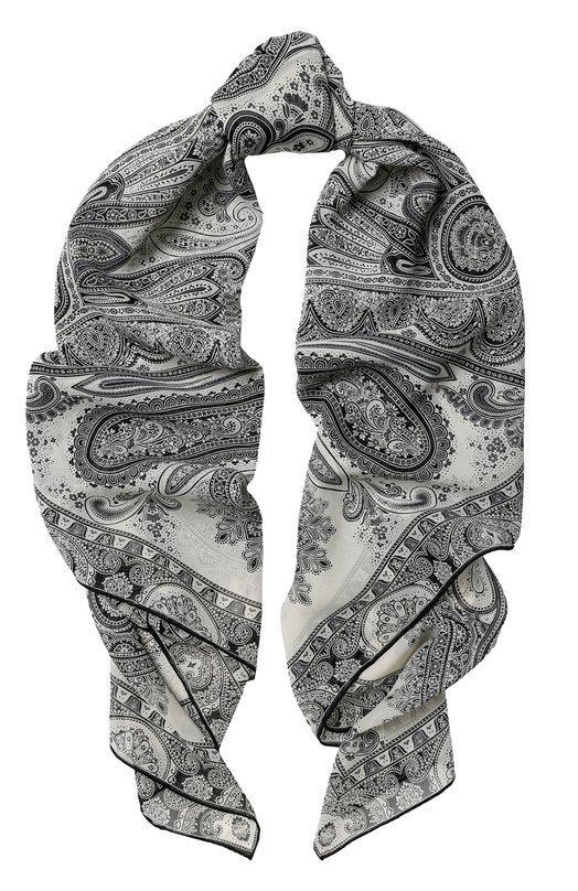 Купить Шелковый платок с принтом Michele Binda, 18336385, Италия, Разноцветный, Шелк: 100%;