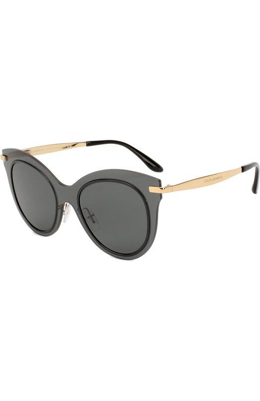 Купить Солнцезащитные очки Dolce & Gabbana, 2172-02/87, Италия, Черный