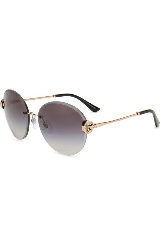 Купить Солнцезащитные очки BVLGARI, 6091B-20148G, Италия, Черный
