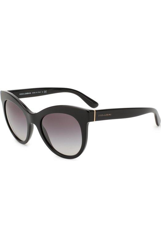Купить Солнцезащитные очки Dolce & Gabbana, 4311-501/8G, Италия, Черный