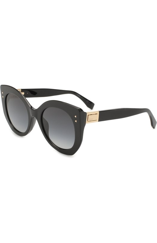 Купить Солнцезащитные очки Fendi, 0265 807, Италия, Черный