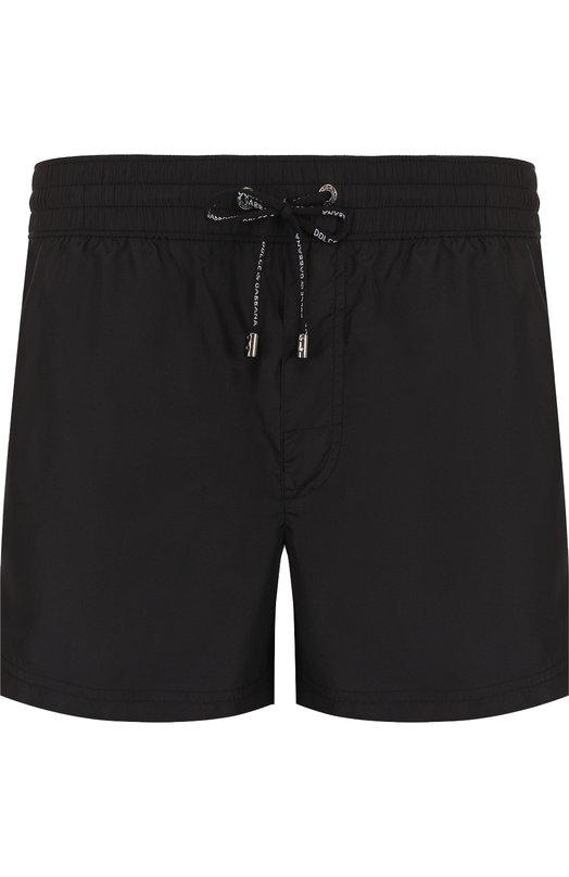 Купить Плавки-шорты с карманами Dolce & Gabbana, M4A01T/FUSEM, Италия, Черный, Подкладка-полиамид: 85%; Подкладка-эластан: 15%; Полиэстер: 100%;