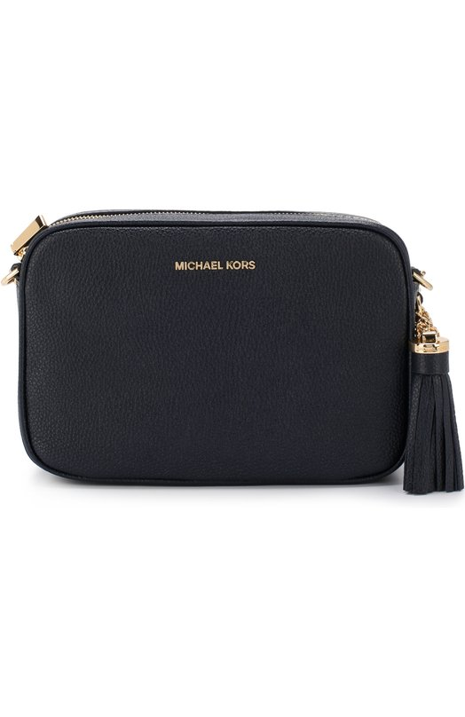 Купить Сумка Ginny MICHAEL Michael Kors, 32F7GGNM8L, Филиппины, Темно-синий, Кожа натуральная: 100%;