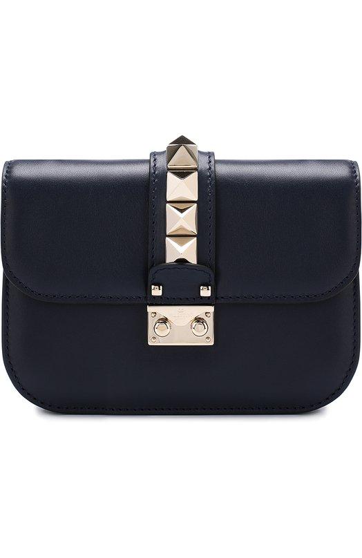 Купить Сумка Valentino Garavani Glam Lock small Valentino, PW2B0312/VIT, Италия, Темно-синий, Кожа натуральная: 100%;