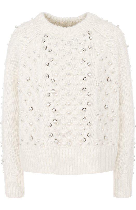Пуловер фактурной вязки из смеси шерсти и льна Rag&Bone