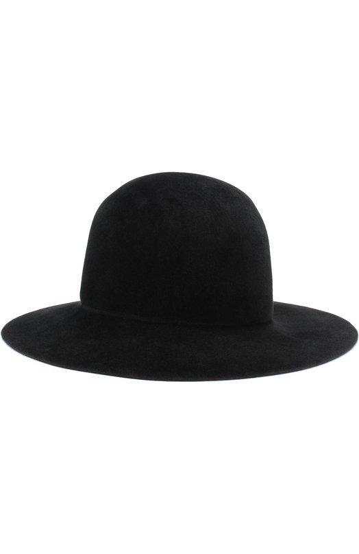 Купить Фетровая шляпа Yohji Yamamoto, HK-H04-963, Япония, Черный, Шерсть: 100%;