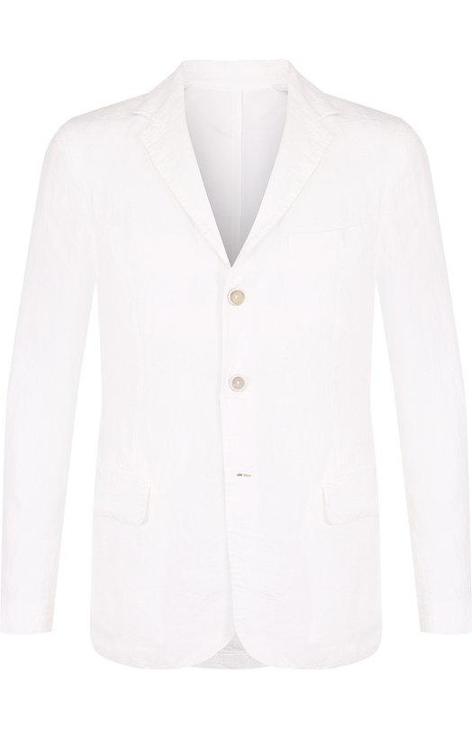 Купить Однобортный льняной пиджак 120% Lino, N0M8469/D695/001, Болгария, Белый, Лен: 100%;