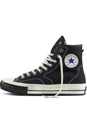 Текстильные кеды Chuck Taylor All Star 70s Hiker Slam Jam Converse черные | Фото №1