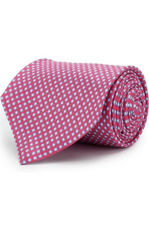 Купить Шелковый галстук Kiton, UCRVKAC09E8507000, Италия, Розовый, Шелк: 100%;