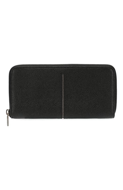 Кожаное портмоне на молнии с отделениями для кредитных карт и монет Tod's