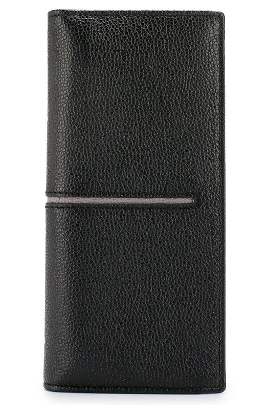Купить Кожаный бумажник с отделениями для кредитных карт Tod's, XAMACHB7300GPA2Z62, Италия, Черный, Кожа натуральная: 100%;