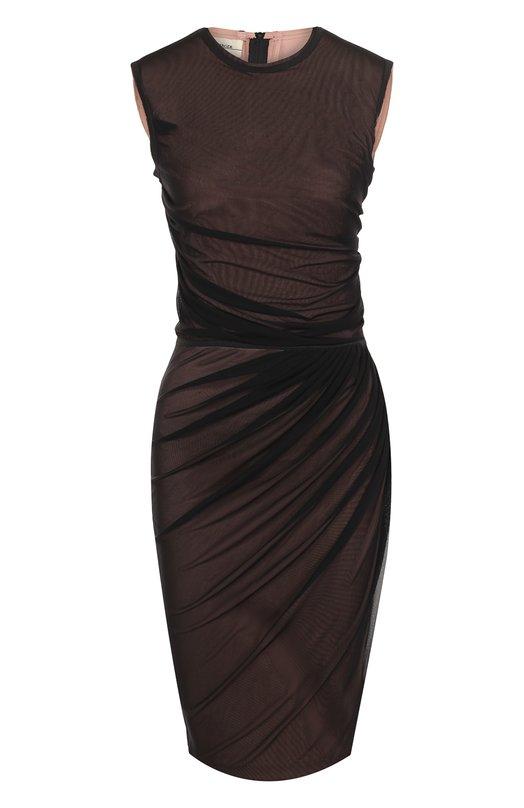 Купить Платье-футляр с драпировкой By Malene Birger, Q64342003/GILDA.., Китай, Розовый, Полиамид: 89%; Эластан: 11%;