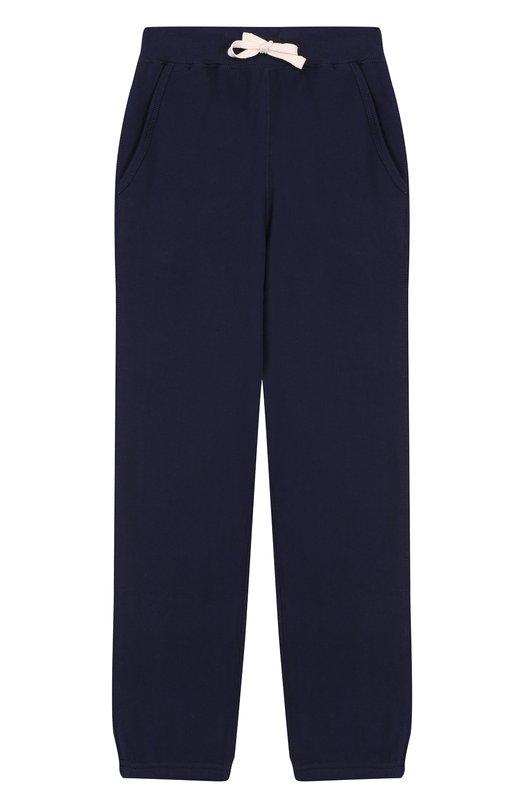 Купить 323536703, Спортивные брюки на кулиске Polo Ralph Lauren, Китай, Синий, Хлопок: 87%; Полиэстер: 13%;, Мужской