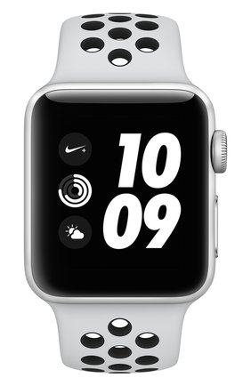 Apple Watch Nike+ (GPS) 38mm Silver Aluminium Case with Pure Platinum/Black Sport Band