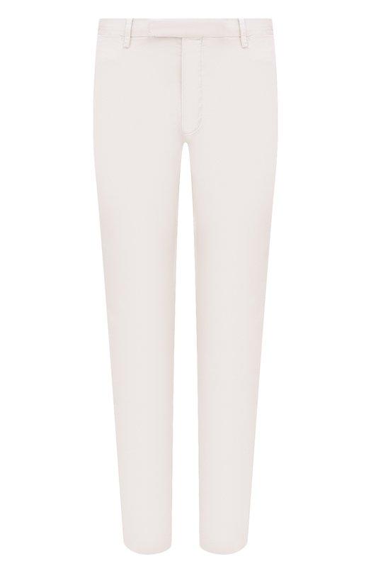 Купить Хлопковые брюки Polo Ralph Lauren, 710644988, Индонезия, Светло-серый, Хлопок: 97%; Эластан: 3%;